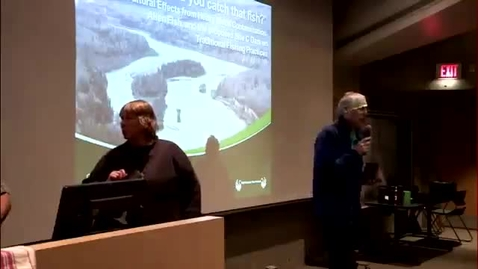 """Thumbnail for entry """"Where'd you catch that fish?"""" Cultural effects from heavy metal contamination, alien fish, and the proposed Site C dam on traditional fishing practices. - January 29 - 2016 - Chief Roland Willson, West Moberly First Nations"""