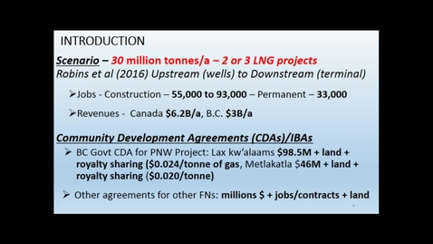"""Thumbnail for entry Debra Stokes - """"Can Large Resource Developments Contribute to Sustainability in First Nations Communities?"""""""