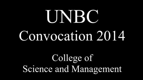 Thumbnail for entry CSAM Convocation 2014
