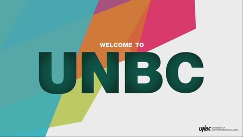 Thumbnail for entry Planning for law school? Start at UNBC - Information Session - January 30 2019