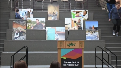 Thumbnail for entry UNBC and CNC announce new civil engineering programs - January 17 2018