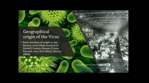 Thumbnail for entry Trains and Transmission: 1918 Influenza Pandemic Across the Maltese Islands - Dr. Lianne Tripp - UNBC Department of Anthropology - January 11 2019