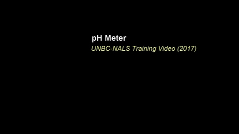 Thumbnail for entry NALS pH and EC Training