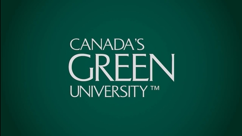 """Thumbnail for entry Freedom of Expression on Canadian University Campuses""""  An Open Discussion - Dr. Emmett Macfarlane – Department of Political Science Waterloo University - March 22 2018"""
