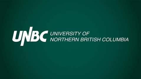 Thumbnail for entry Aspiration – A History of the University of Northern British Columbia to 2015. - Dr. Jonathan Swainger - January 30 2018