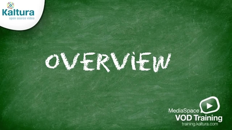 Thumbnail for entry MediaSpace (MediaWindow) Overview - Kaltura Tutorial