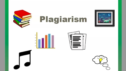 Thumbnail for entry Plagiarism