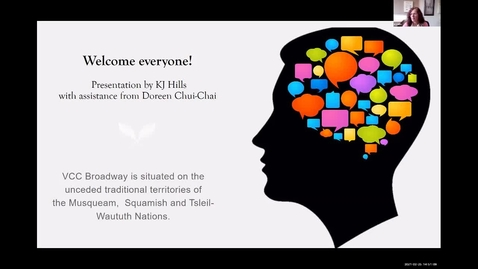 Thumbnail for entry TLR Symposium 2021, Day 1: #10, How Self-talk Helps and Hinders Resilience and Healing