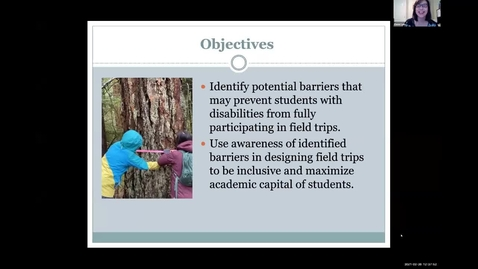 Thumbnail for entry TLR Symposium 2021, Day 2: #06, Universal Design for Accessible Fieldtrips