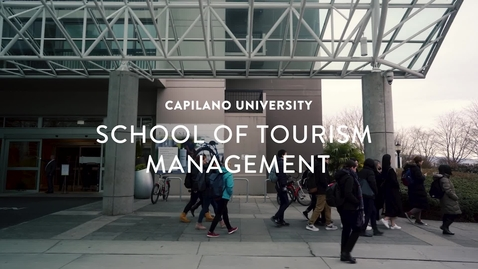 Thumbnail for entry CapU - School of Tourism Management